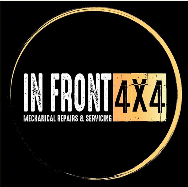 In Front 4x4 logo